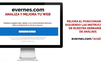 Analiza y mejora tu página web. https://evernes.com/analisis