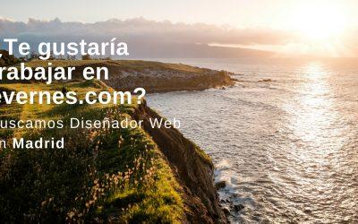 ¿Te gustaría trabajar en evernes.com? Buscamos diseñador web con WordPress
